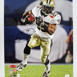 Reggie Bush Signed Photo Saints 16x20