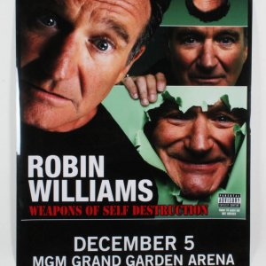 Robin Williams On Sight Poster