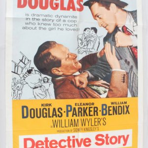 1960 Detective Story Movie Poster One Sheet R60/344