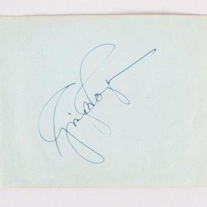 Ginger Rogers & Lana Turner Signed Album Page - COA JSA