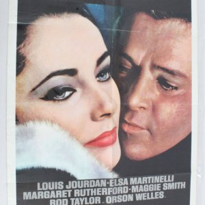 1963 The V.I.P.s Movie Poster One Sheet 63/221
