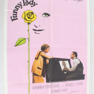 1975 Funny Lady Movie Poster One Sheet 75/3