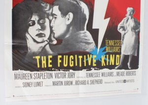 1960 The Fugitive Kind Movie Poster One Sheet 60/23