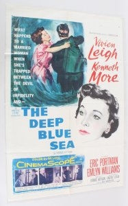 1955 The Deep Blue See Movie Poster One Sheet 55/445
