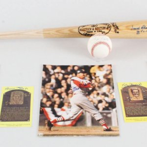 Willie Mays Signed Card & MLB Signed Baseball Lot  - COA JSA