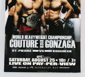 UFC Poster Lot (4) UFC 68-69, 72 & 74