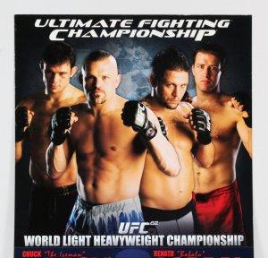 UFC Poster Lot (4) UFC 63-64 & 66