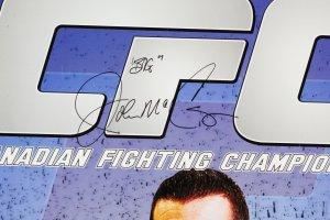 Big John McCarthy Signed Poster MMA Lot - COA JSA