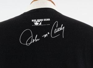 Big John McCarthy Signed T Shirt w/ Credentials
