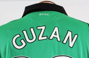 2012-13 Brad Guzan Game-Worn Jersey Aston Villa F.C.