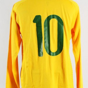 2010 Kaka Game-Worn Jersey Brazil National Team