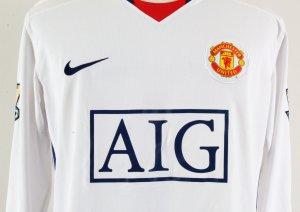 2009 Nemanja Vidic Game-Worn Jersey Manchester United F.C.
