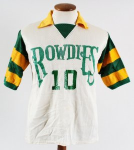 Rodney Marsh Game-Worn Jersey NASL Tampa Bay Rowdies