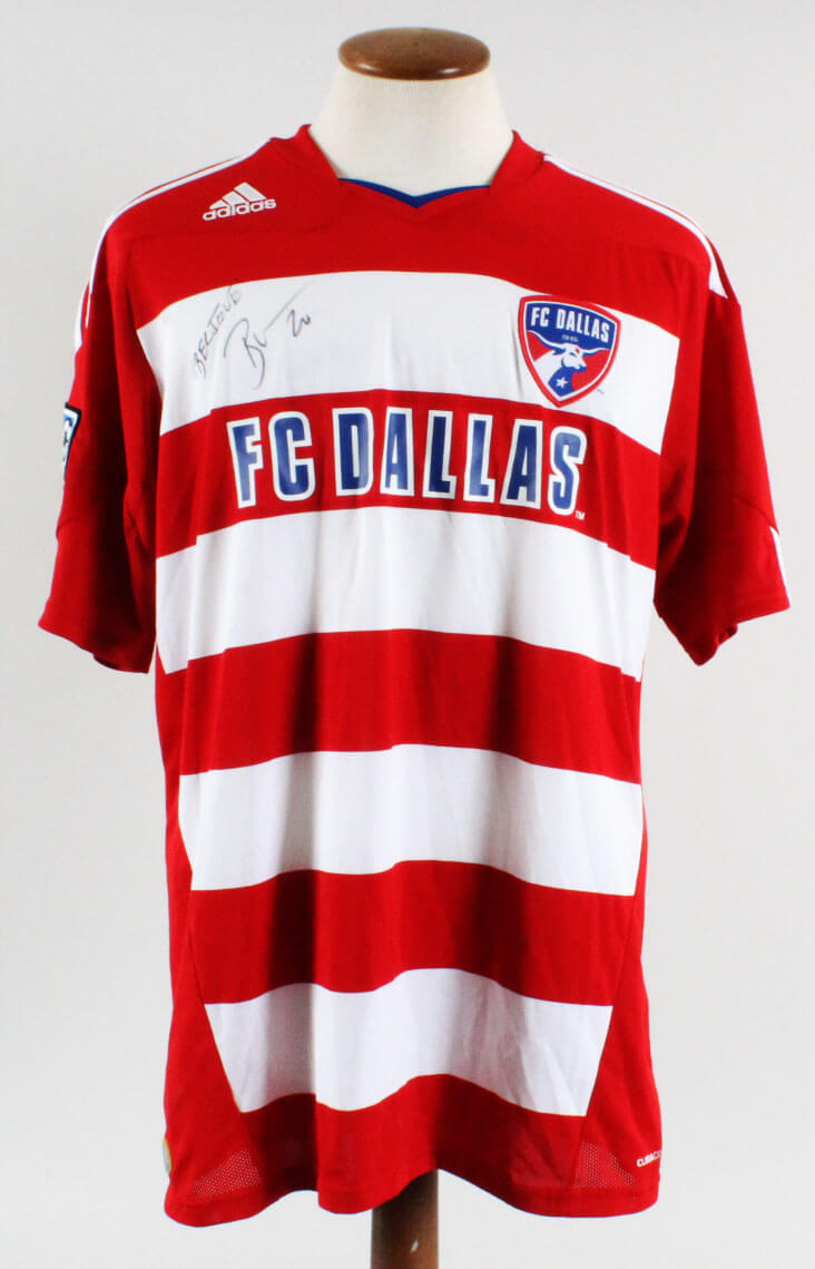 newest 73d37 d73ee Brek Shea Signed Jersey MLS FC Dallas - COA