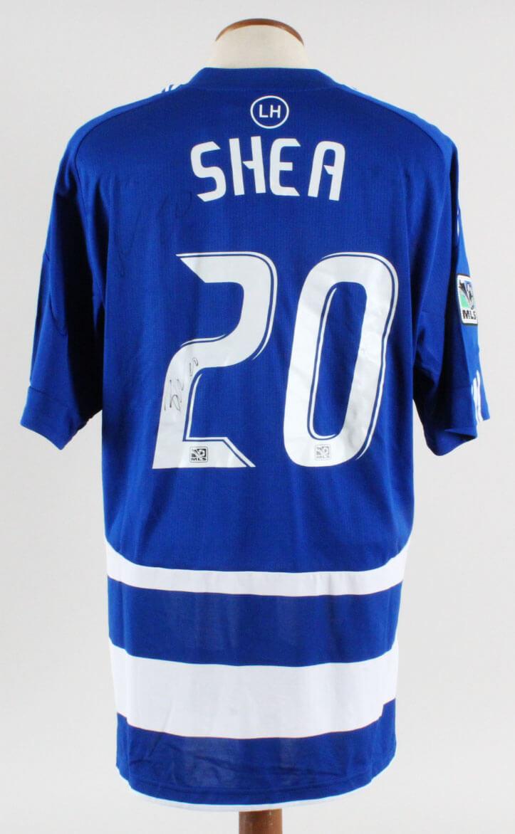 newest e12ec ac527 Brek Shea Signed Jersey MLS FC Dallas - COA