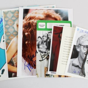 Celebrity Signed Photos Lot (9) - COA JSA