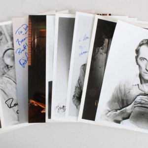 Celebrity Signed Photos Lot (10) - COA JSA