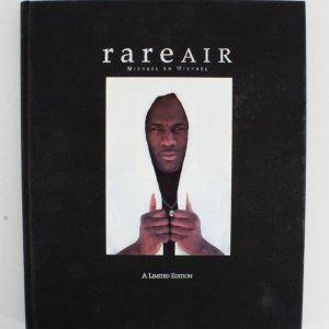 Michael Jordan Signed Book Bulls Rare Air - COA UDA