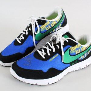 Steve Wozniak Signed Shoes Nike LE Woz Design Apple - COA JSA
