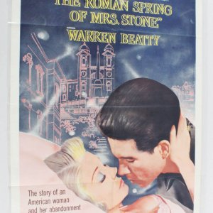 The Roman Spring of Mrs. Stone Movie Poster One Sheet 62/7