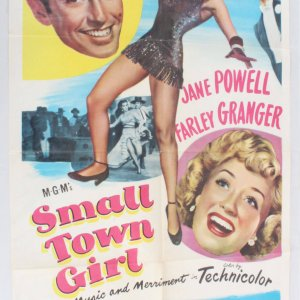 1953 Small Town Girl Movie Poster One Sheet 53/36