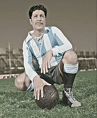A 1930 FIFA World Cup Top Scorer Trophy Awarded to Guillermo Stabile (Argentina / 8 Goals).