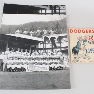 1952 Brooklyn Dodgers Yearbook w/ Photos (3)