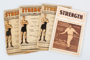 1920-21 Strength Magazine Book Lot (4)