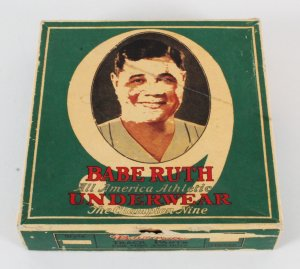 Babe Ruth Underwear Box The Champion Nine