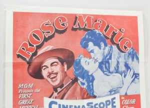 1962 Rose Marie Movie Poster One Sheet R62/200