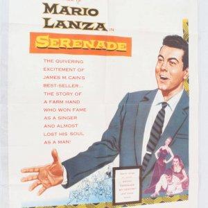 1956 Serenade Movie Poster One Sheet 56/99