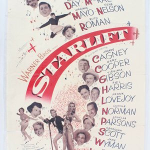 1951 Starlift Movie Poster One Sheet 51/518