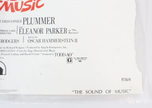 1973 The Sound of Music Movie Poster One Sheet R73\9