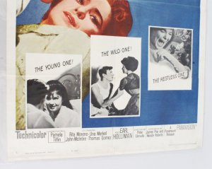 1961 Summer and Smoke Movie Poster One Sheet 61/263
