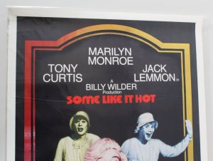 1980 Some Like It Hot Movie Poster One Sheet