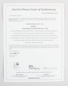 Celebrity Signed Lot (6) Blake Edwards, etc. -JSA
