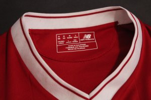 A Mohamed Salah Game-Used #11 Liverpool FC Shirt.  2017/18 UEFA Champions League.