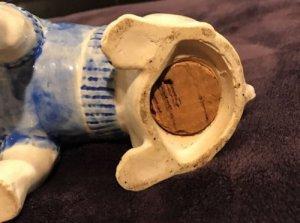 1930 Yale University Ceramic Still Bank