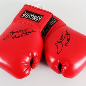 Ken Norton Signed Boxing Gloves - COA JSA