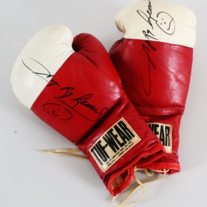 Sugar Ray Leonard Signed Boxing Gloves - COA JSA