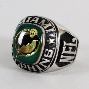 Miami Dolphins Ring NFL Size 7