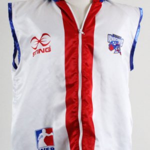 WSB Athlete Fight-Worn Boxing Robe w/Hood