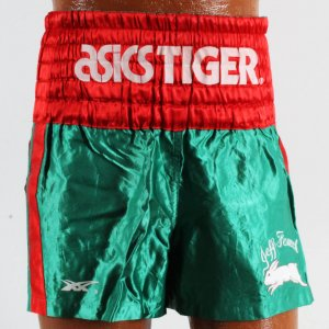 Jeff Fenech Fight-Worn Boxing Trunks
