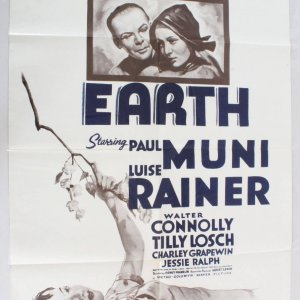 1962 The Good Earth Movie Poster One Sheet R62/184