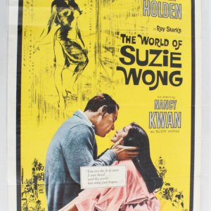 1960 The World Of Suzie Wong Movie Poster One Sheet 60/365