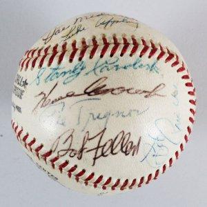 MLB HOFers & Stars Signed Baseball - COA JSA