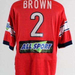 C. J. Brown Game-Worn Jersey Chicago Fire