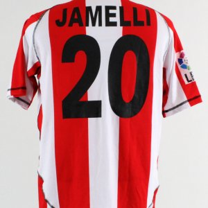Paulo Jamelli Game-Worn Jersey UD Almería