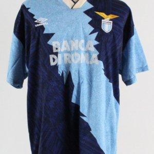 Roberto Rambaudi S.S. Lazio Soccer Team Game-Worn Jersey #7