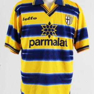 Fabio Cannavaro Game-Worn Jersey Parma Calcio Soccer Team #17